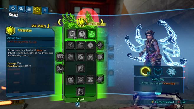 Borderlands 3: Release-Termin, Gameplay-Trailer, alle Infos Bisher gibt es für jeden Charakter drei Skill-Trees mit zahlreichen Fähigkeiten. Außerdem nutzen Sie dieses Mal im Kampf sogar zwei gleichzeitig.©2K Games, Gearbox
