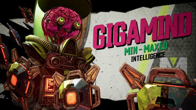 Borderlands 3: Release-Termin, Gameplay-Trailer, alle Infos Die Bosse sind originell wie vielseitig. Der trashige Gigamind stellt seine Hirnkapazität prominent zur Schau und greift Sie mit Minions und Drohnen an.©2K Games, Gearbox