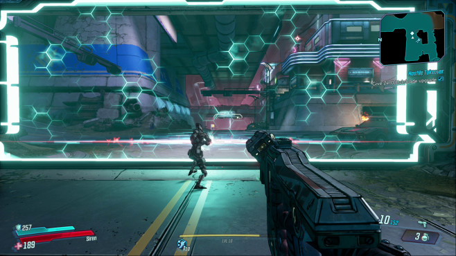 Borderlands 3: Release-Termin, Gameplay-Trailer, alle Infos Fans freuen sich über ein Wiedersehen mit alten Bekannten wie Zer0. Der flinke Roboter ist eine gute NPC-Hilfe und zersäbelt mit seinem Katana an bestimmten Stellen feindliche Energiebarrieren.©2K Games, Gearbox