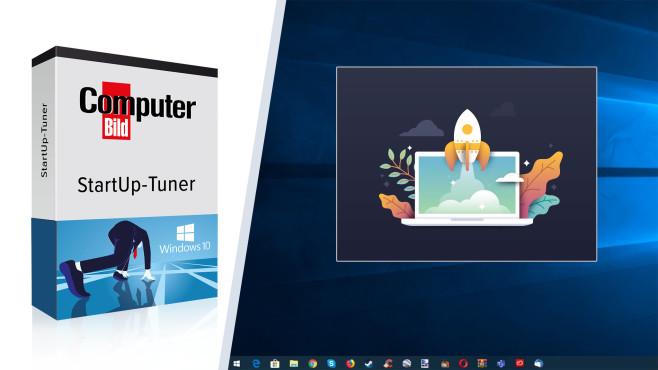 COMPUTER BILD-StartUp-Tuner ©COMPUTER BILD