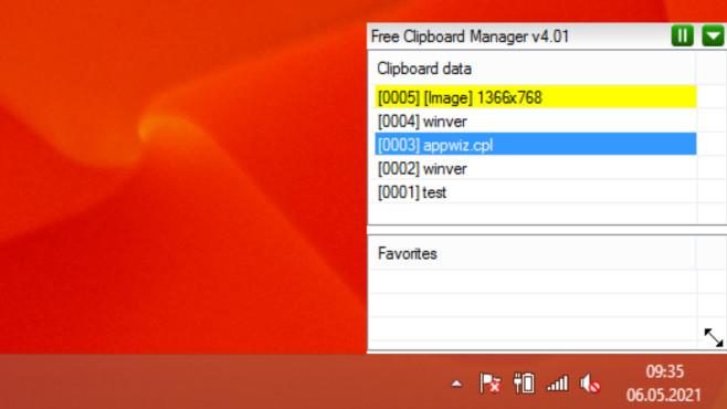 Free Clipboard Manager ©COMPUTER BILD