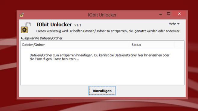 IObit Unlocker ©COMPUTER BILD