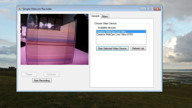 Simple Webcam Recorder ©COMPUTER BILD