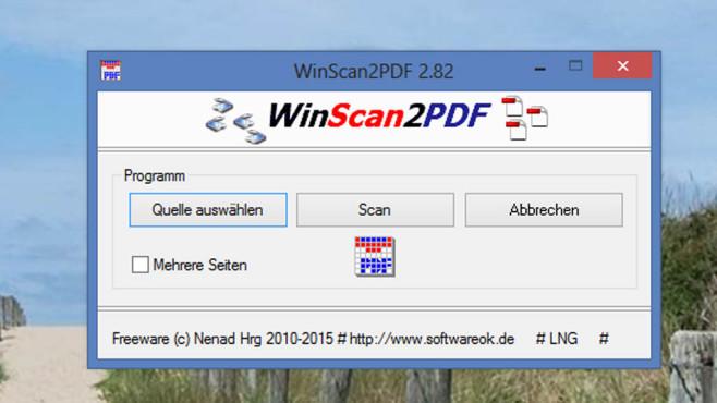 WinScan2PDF ©COMPUTER BILD