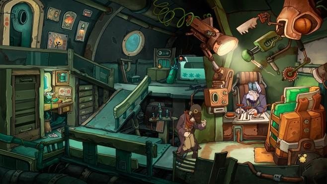 Chaos of Deponia: Screenshot©Daedalic Entertainment