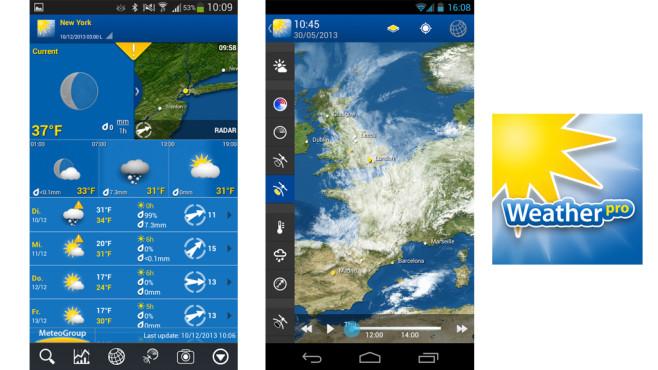 Weather Pro ©MeteoGroup