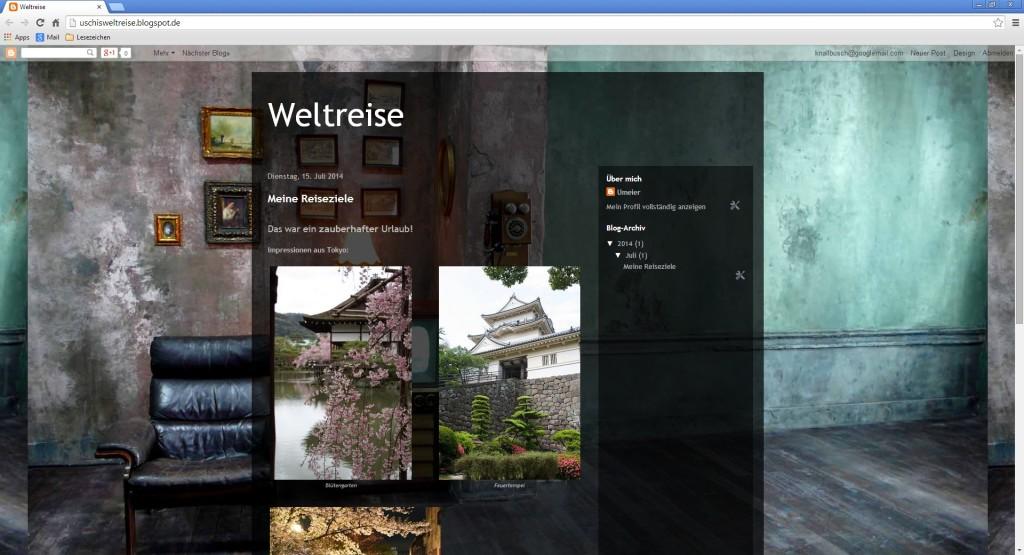 Screenshot 1 - Blogger