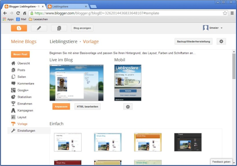 Blogger - Download - COMPUTER BILD