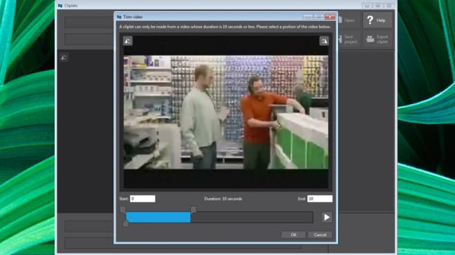Microsoft Research Cliplets: Eingefrorene Unterhaltung zaubern ©COMPUTER BILD
