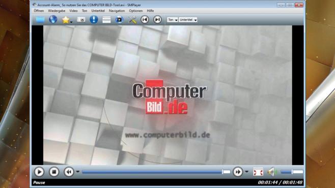 SMPlayer: Vielfältiges Abspieltool samt Korrektur ©COMPUTER BILD