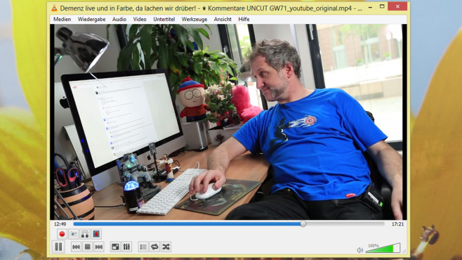 VLC Media Player: Ausschnitt verändern, Dateien umwandeln ©COMPUTER BILD