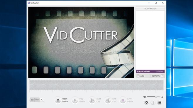VidCutter: Schlankes Schnitt-Tool ©COMPUTER BILD