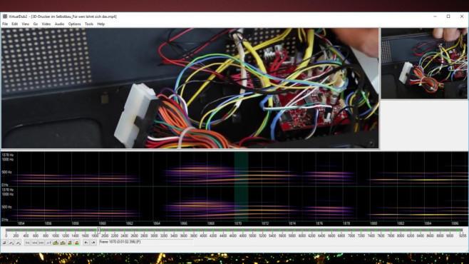 VirtualDub2: Neue Funktionen für bewährtes Programm ©COMPUTER BILD