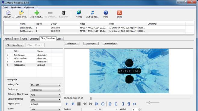 XMedia Recode: Aufnahmen vom Ton befreien ©COMPUTER BILD
