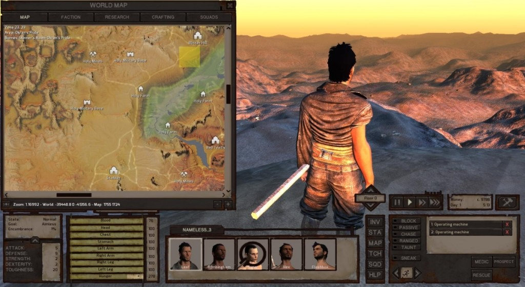 Screenshot 1 - Kenshi
