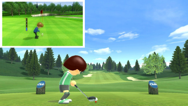 Vergleich zwischen Wii Sports Club und Vorlage Wii Sports©Nintendo