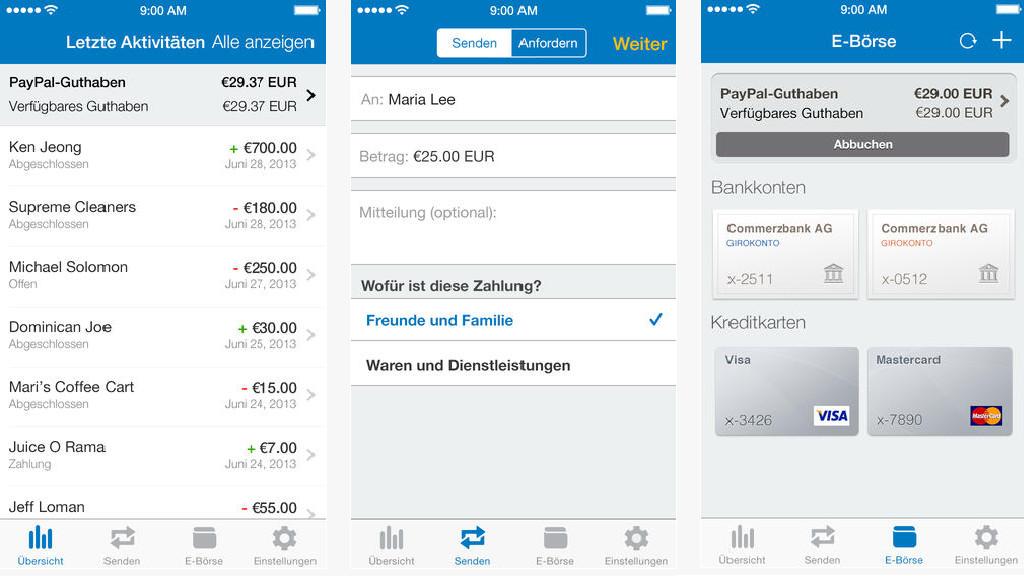 Paypal App Geld Einzahlen