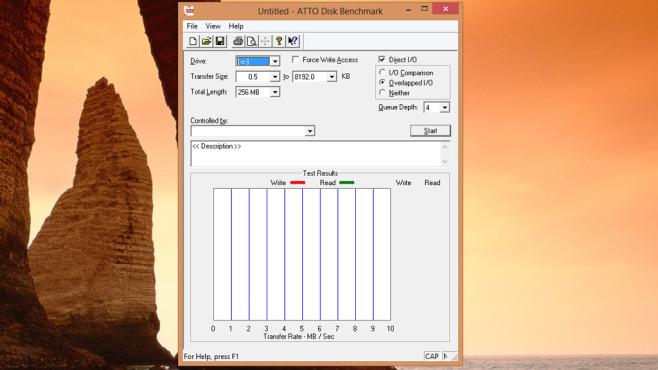 ATTO Disk Benchmark: SSD-Leistung messen ©COMPUTER BILD