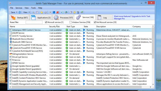AnVir Task Manager Free: Autostart optimieren ©COMPUTER BILD
