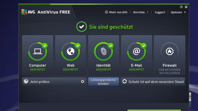 Avast Free Antivirus: Schädlinge abwehren ©COMPUTER BILD