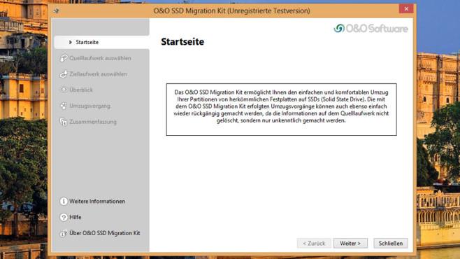 O&O SSD Migration Kit: Datenumzug leicht gemacht ©COMPUTER BILD