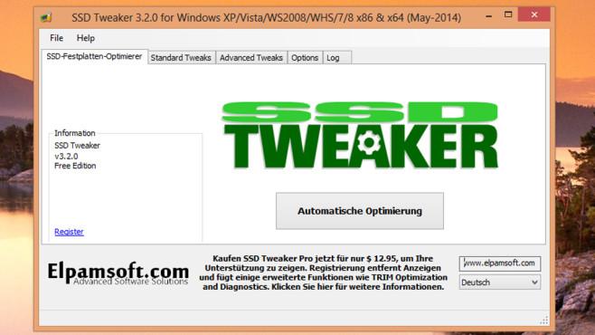 SSD Tweaker: Einstellungen optimieren©COMPUTER BILD