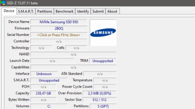 SSD-Z: Technische Eckdaten offenlegen ©COMPUTER BILD