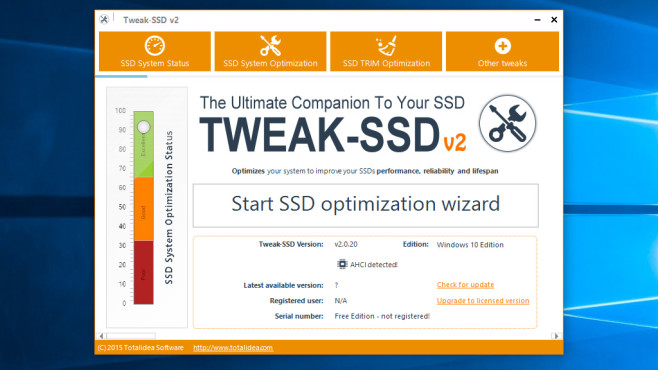 Tweak-SSD: Windows-Einstellungen korrigieren ©COMPUTER BILD