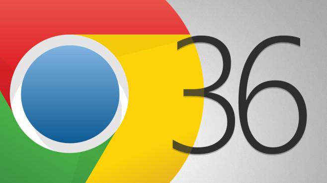 Google Chrome 36©Google