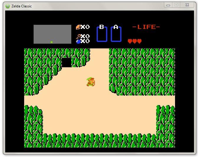 Screenshot 1 - Zelda Classic
