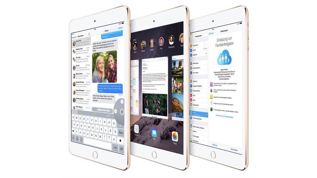 iPad mini 3©Apple
