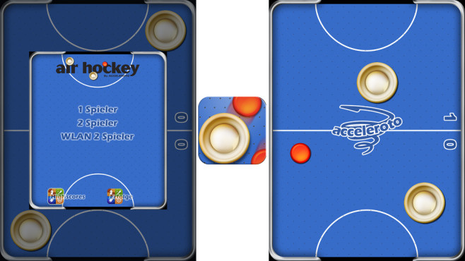 Air Hockey © Acceleroto