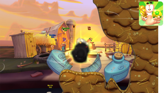 Worms 3 © Team17 Software Ltd