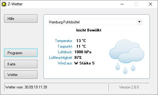 Screenshot 1 - Z-Wetter