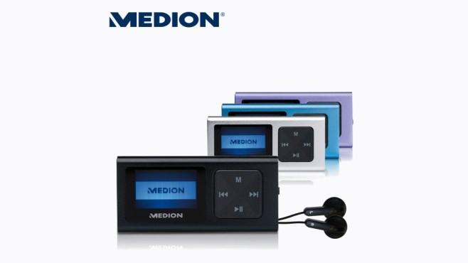 MP3-Player: Medion Life E60065 (MD 84107) ©Aldi Nord