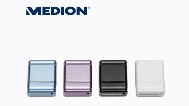 USB-Stick: Medion E89176 (MD 87146) ©Aldi Nord