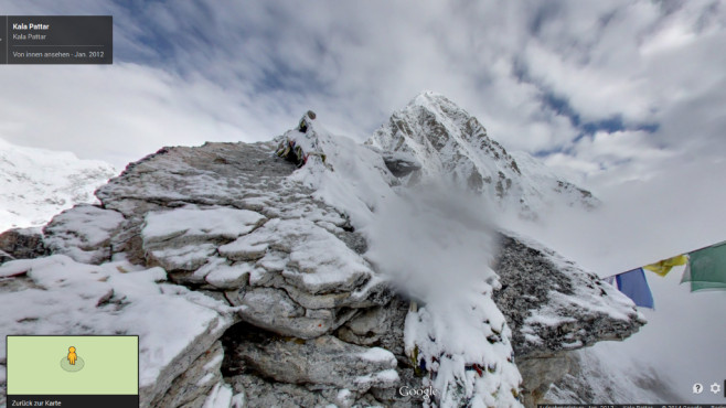 Tibet/Nepal – Mount Everest © Google