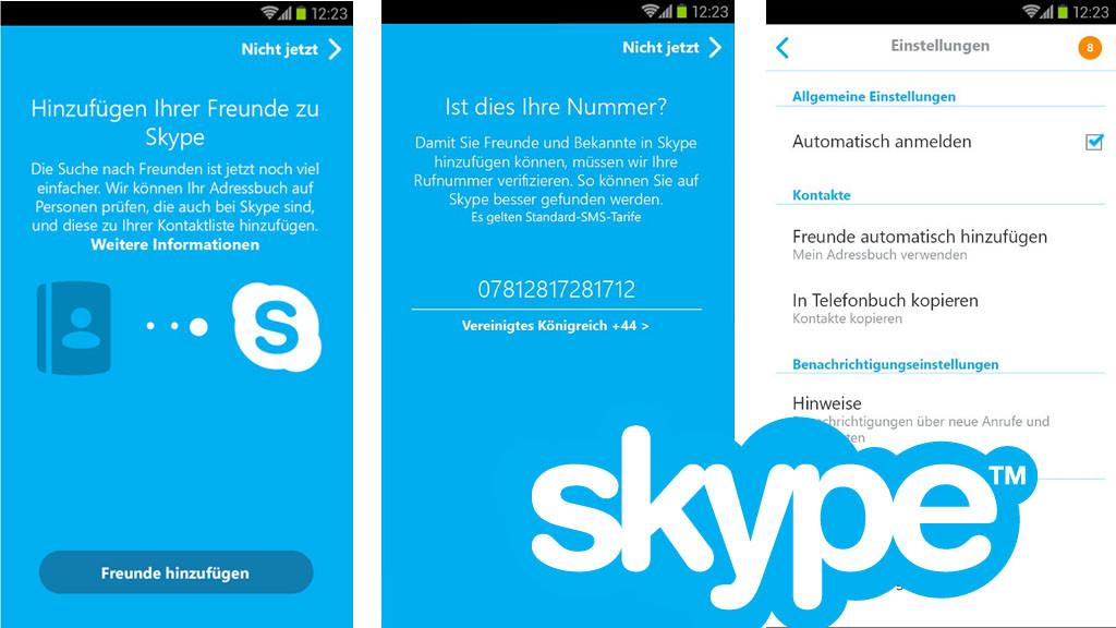 Alte skype kontakte wiederfinden