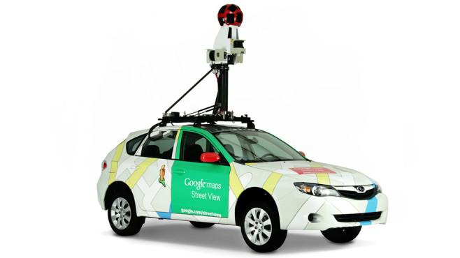 Street-View-Auto ©Google