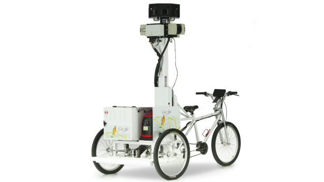Street-View-Trike ©Google