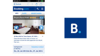 Booking.com im App-Test © booking.com