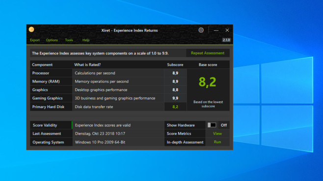 Windows 8.1/10: Leistungsindex berechnen und nachrüsten – Tools und Befehle©COMPUTER BILD