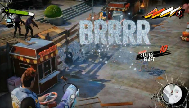 Sunset Overdrive ©Insomniac Games