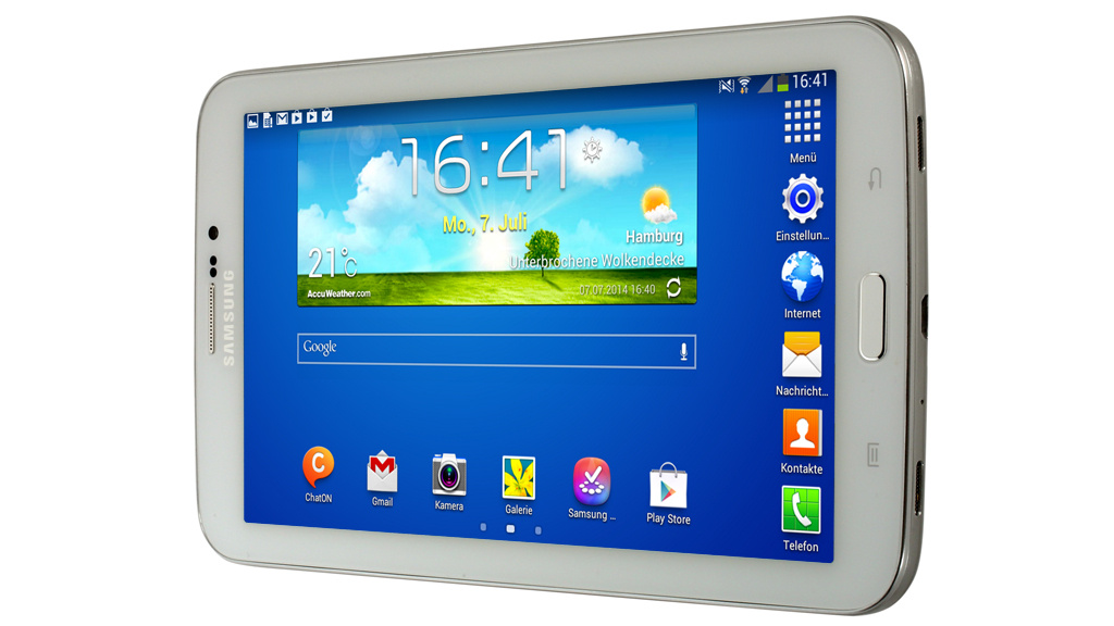 samsung galaxy tab 3 7 0 test des 140 euro tablets. Black Bedroom Furniture Sets. Home Design Ideas