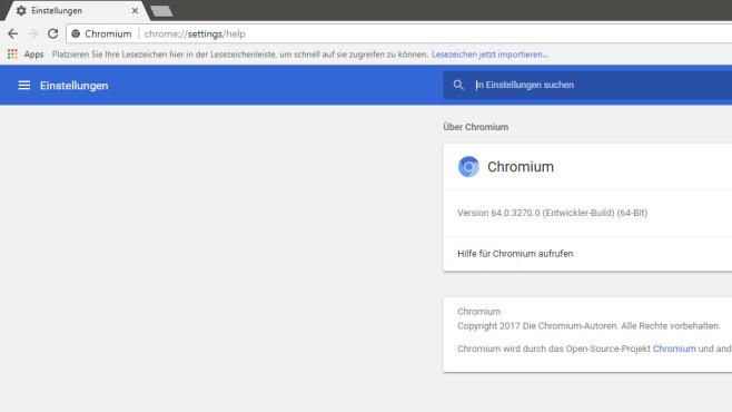 Chromium: Das wahre Google Chrome ©COMPUTER BILD