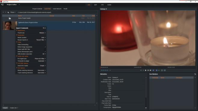 Lightworks: Videos bearbeiten ©COMPUTER BILD