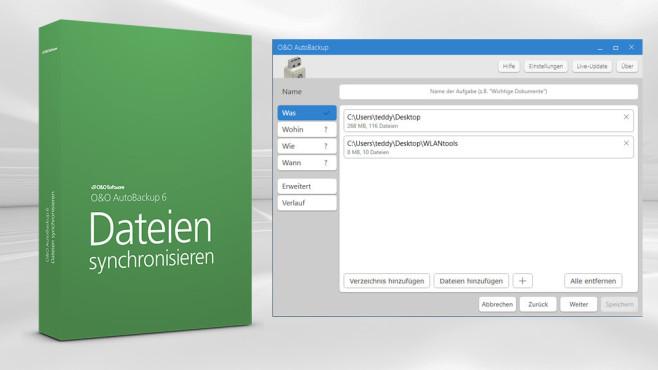 O&O AutoBackup – Kostenlose Vollversion: Einfache Datensicherung ©COMPUTER BILD