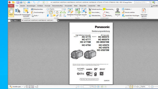 PDF-XChange Editor: PDF-Dokumente öffnen ©COMPUTER BILD