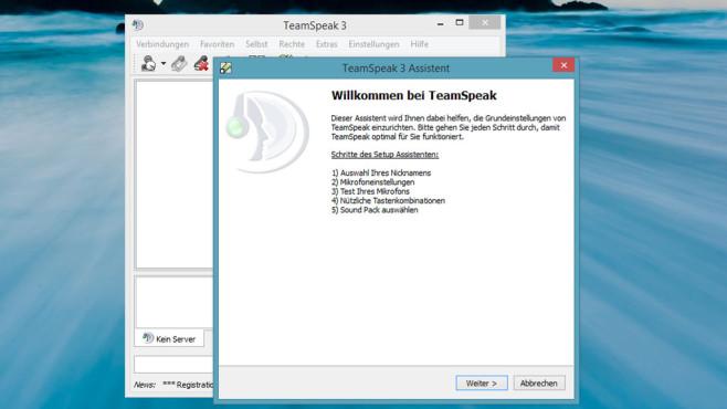 TeamSpeak und TeamSpeak Server: Chat-Tool für Spieler ©COMPUTER BILD