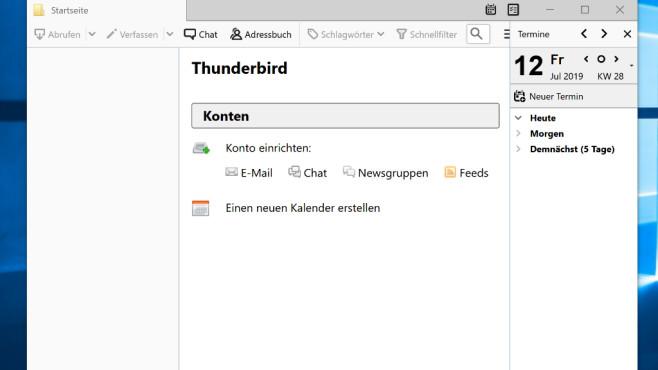 Thunderbird: E-Mails verwalten ©COMPUTER BILD